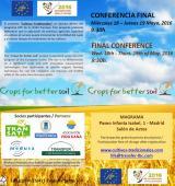 Cambio de lugar de la conferencia final 18 de mayo: sede de Magrama
