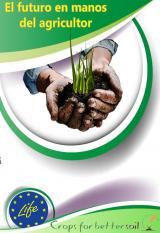 Entrega del libro guía llamado El futuro en manos del agricultor