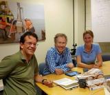 Reunión técnica en Medusa y Transfer en Groningen