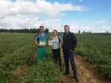 Última visita Técnica a los agricultores del proyecto de las zonas de Zaragoza y Navarra